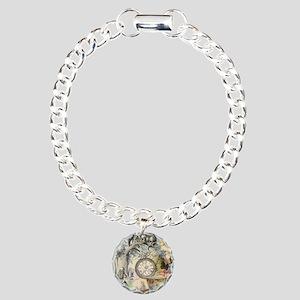 Cheshire Cat Alice in Wonderland Bracelet