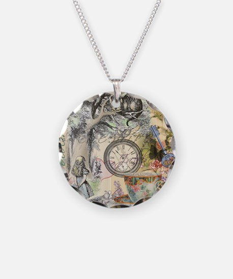 Cheshire Cat Alice in Wonderland Necklace