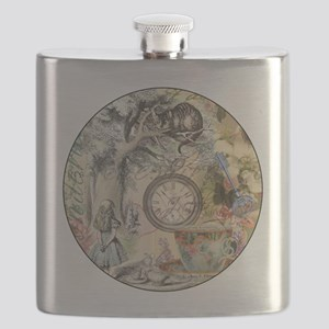 Cheshire Cat Alice in Wonderland Flask