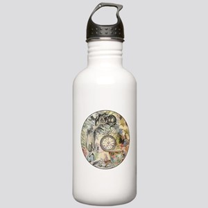 Cheshire Cat Alice in Wonderland Water Bottle
