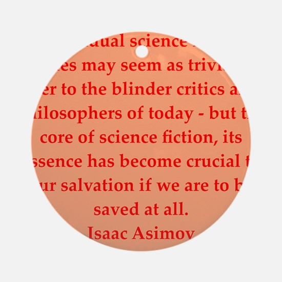 asimov6.png Ornament (Round)