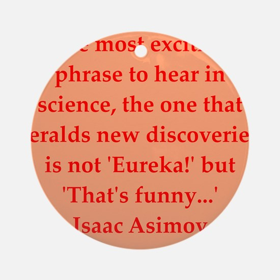 asimov9.png Ornament (Round)