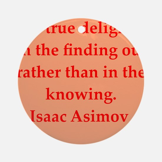 asimov11.png Ornament (Round)