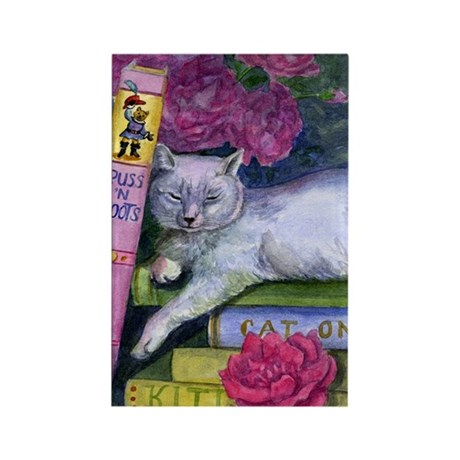 Puss 'n Boots Rectangle Magnet (100 pack)