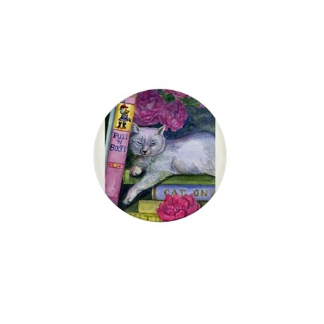 Puss 'n Boots Mini Button (100 pack)