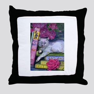 Puss 'n Boots Throw Pillow