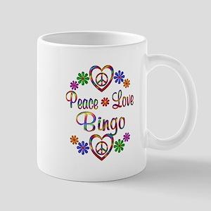 Peace Love Bingo Mug