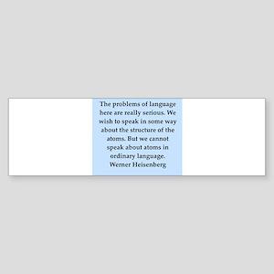 heisenberg3 Sticker (Bumper)