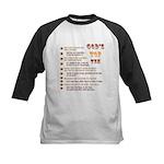 God's Top Ten List Baseball Jersey