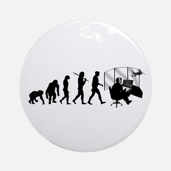 Air Traffic Controller Ornament (Round)