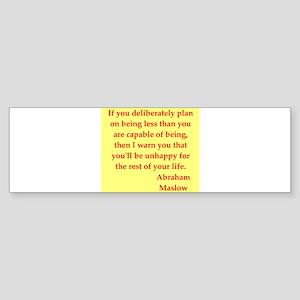 maslow3 Sticker (Bumper)
