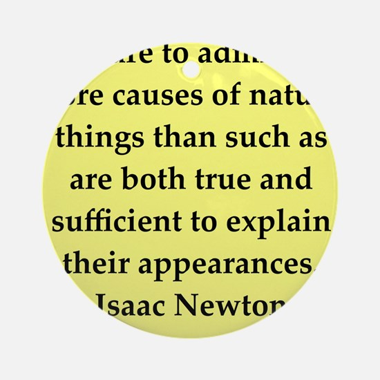 newton2.png Ornament (Round)