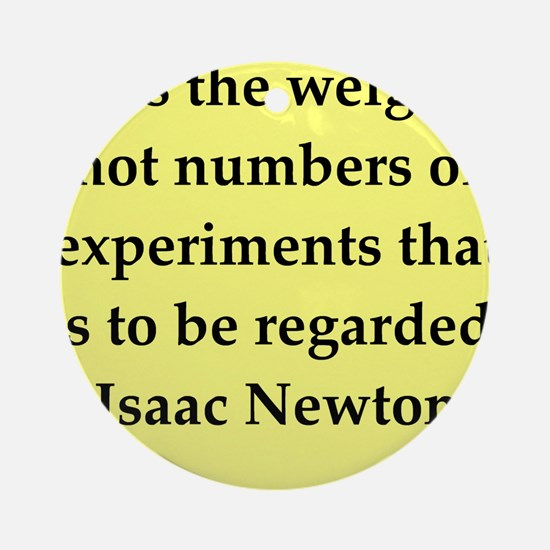 newton7.png Ornament (Round)