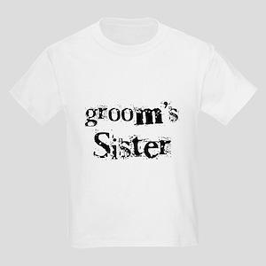 Groom's Sister Kids Light T-Shirt