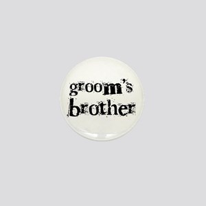 Groom's Brother Mini Button