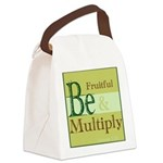 Fruitful Being Canvas Lunch Bag