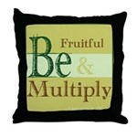 Fruitful Being Throw Pillow