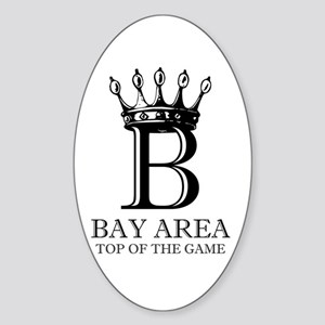Top of the Game Oval Sticker