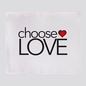 Choose Love - Throw Blanket