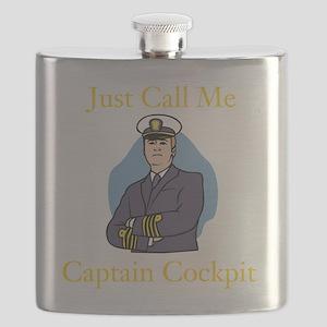 Captain Cockpit Flask