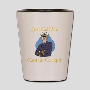 Captain Cockpit Shot Glass