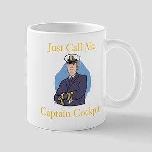 Captain Cockpit Mugs