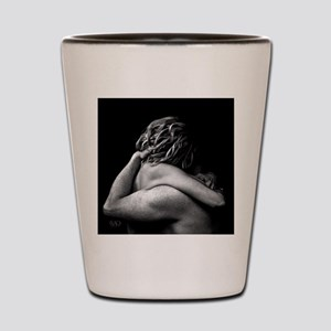 Nude Couple Embrace In The Dark (Lovers) Shot Glas