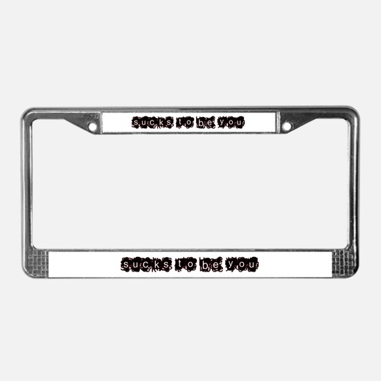 sux 2 b u - License Plate Frame