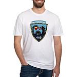 USS NICHOLAS Fitted T-Shirt