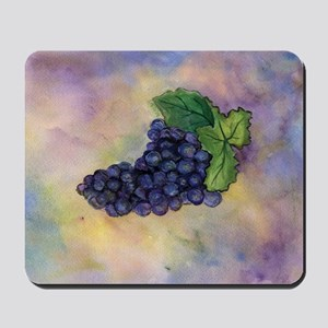 Red Wine Grapes Mousepad