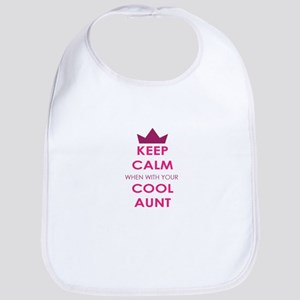 Keep Calm when with your cool aunt Bib