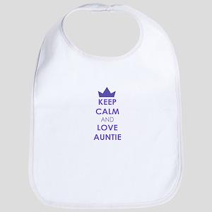 Keep Calm and Love Auntie Bib