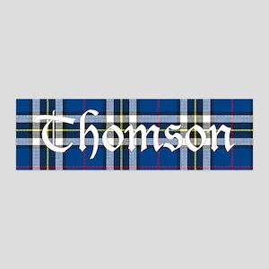 Tartan - Thomson dress 36x11 Wall Decal