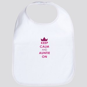 Keep Calm and Auntie On Bib