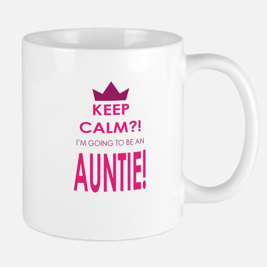 Keep Calm Im going to be an auntie Mugs