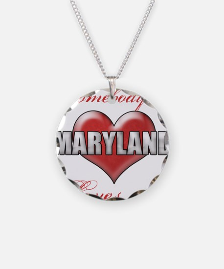 Somebody In Maryland Loves M Necklace