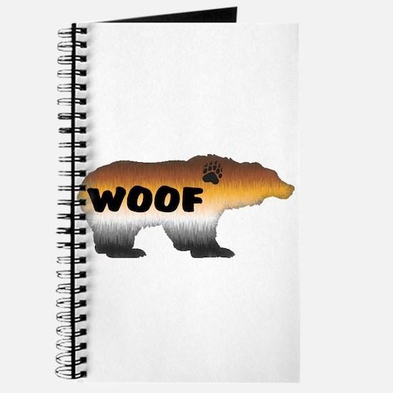 FURRY PRIDE BEAR/WOOF Journal