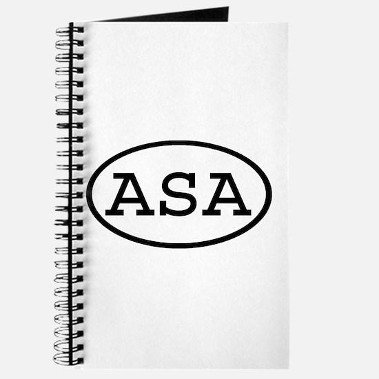 ASA Oval Journal