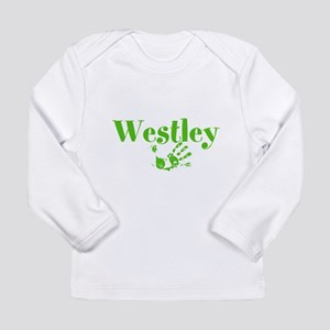 Personalized Westley Child or Baby Long Sleeve T-S
