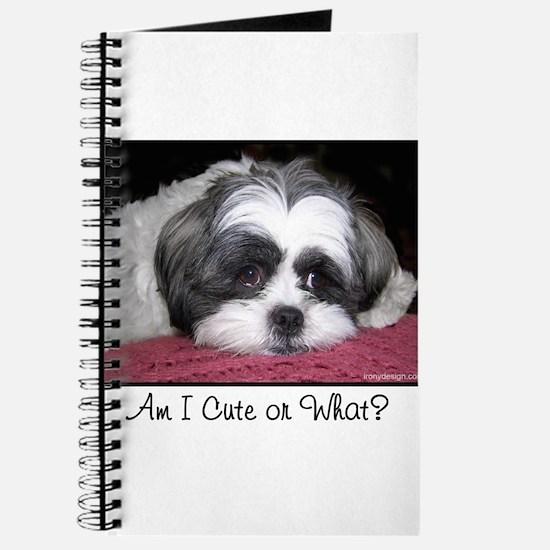 Cute Shih Tzu Dog Journal