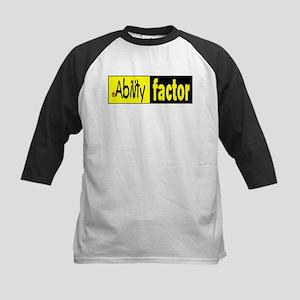 Ability Factor Kids Baseball Jersey