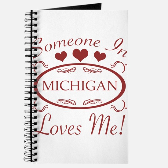 Somebody In Michigan Loves Me Journal