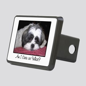 Cute Shih Tzu Dog Rectangular Hitch Cover