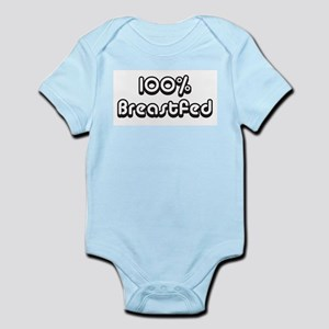 100% Breastfed Infant Creeper