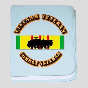 VN Vet - VCM - Mech Inf baby blanket