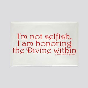 Divine Within Rectangle Magnet