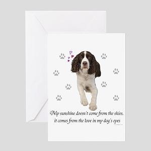 English Springer Spaniel Greeting Cards