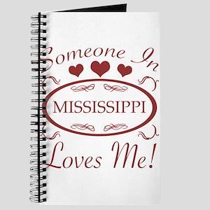 Somebody In Mississippi Loves Me Journal