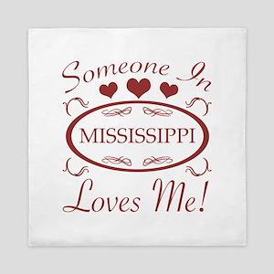 Somebody In Mississippi Loves Me Queen Duvet
