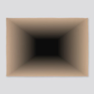 Hole 5'x7'area Rug